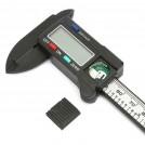 Штангенциркуль LCD цифровой 100 мм Carbon Fiber